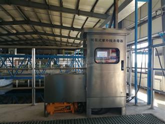 内蒙古锡林郭勒盟明渠紫外线安装案例