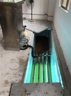 广东佛山仙湖度假村明渠紫外线安装项目
