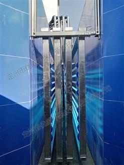 四川省眉山市某污水处理厂紫外线消毒模块安装现场